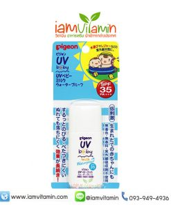 Pigeon UV Baby Milk Waterproof SPF35 PA+++ 30g ครีมกันแดด สำหรับเด็ก