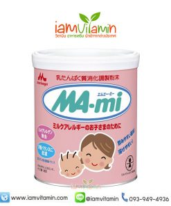 นมผงเด็ก ญี่ปุ่น สำหรับเด็กแพ้นมวัว Morinaga Ma-mi