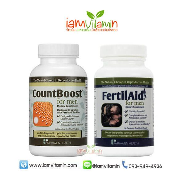Count boost + Fertilaid For Men