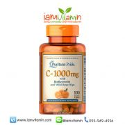 Puritan's Pride Vitamin C-1000 mg with Bioflavonoids & Rose Hips
