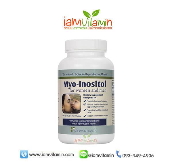 Myo Inositol วิตามินเพิ่มคุณภาพรังไข่ บำรุงไข่ และแก้ปัญหา PCOS