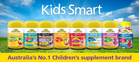Nature's Way Kids Smart Vita Gummies