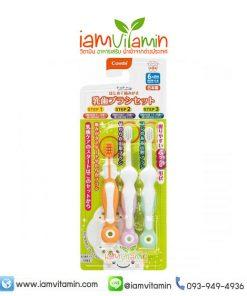ชุดแปรงสีฟันสำหรับเด็ก Combi STEP 1 2 3