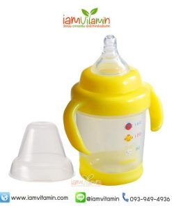 Pigeon MagMag Step1 ถ้วยหัดดื่ม พีเจ้น สีเหลือง