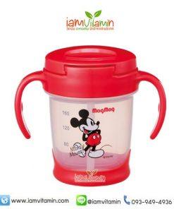 ถ้วยหัดดื่ม Pigeon MagMag Step 3 ลาย Mickey Mouse