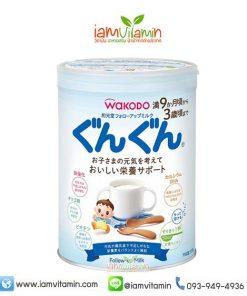 Wakodo Follow-up Milk GunGun 830g นมผงสำหรับเด็ก