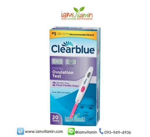 Clearblue Digital Ovulation Test ที่ตรวจวันไข่ตก ดิจิตอล