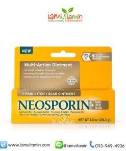 Neosporin Multi-Action Ointment 1oz ยาทาแผลสด ฆ่าเชื้อ
