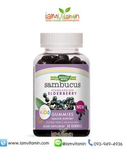 Nature's Way Sambucus Standardized Elderberry Gummies