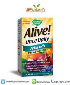 Alive Once Daily Men's 50+ Ultra Potency วิตามินรวม ผู้ชาย 50ปี