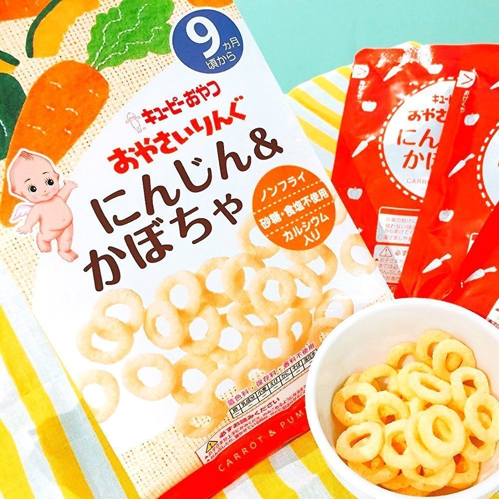 Kewpie Snack ขนมเด็ก สำหรับ 9เดือน