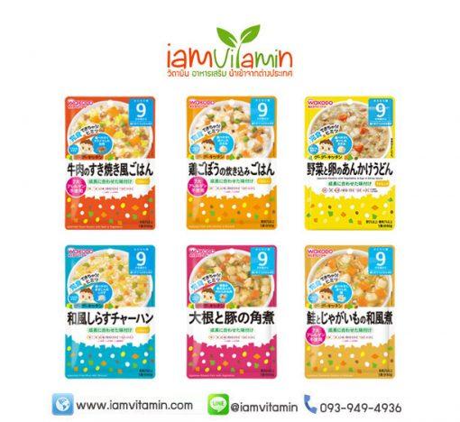 Wakodo Baby Food อาหารเด็กสำเร็จรูป สำหรับเด็ก 9เดือน