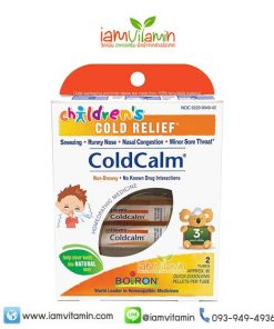 Boiron Children's Coldcalm Homeopathic Medicine for Cold Relief