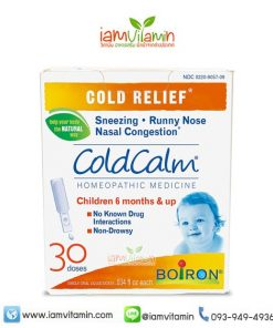 Boiron Coldcalm Baby Cold Relief Drops 30 Doses Homeopathic Medicine