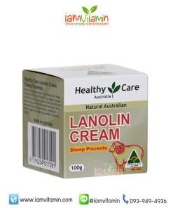 Healthy Care Lanolin Cream with Sheep Placenta ครีมรกแกะ