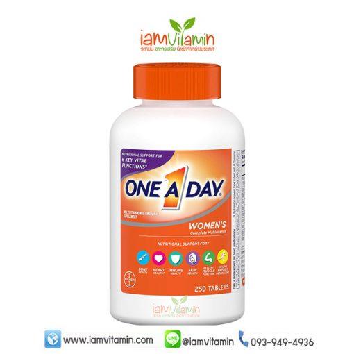 One A Day Women's Multivitamin 250เม็ด วิตามินรวม สำหรับผู้หญิง