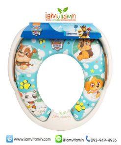 Paw Patrol Soft Padded Potty Seat Toilet Training ฝารองนั่ง ชักโครก หุ้มเบาะนิ่ม