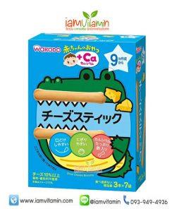 Wakodo Baby Snack + Ca ขนมเด็ก บิสกิต รสชีส