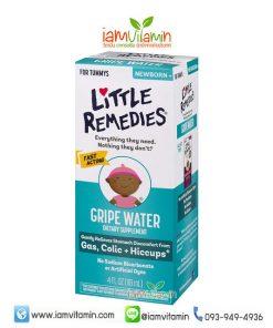 Little Remedies Gripe Water 118ml ลดแก๊สในท้อง บรรเทาอาการ ท้องอืด สะอึก โคลิก สำหรับเด็ก