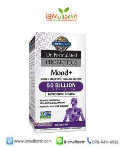 Garden of Life Dr. Formulated Probiotics Mood + อาหารเสริม โพรไบโอติก