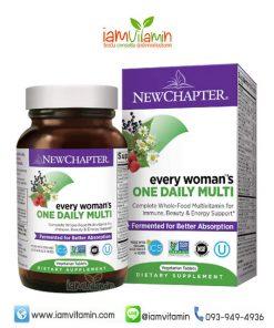 New Chapter Every Woman's One Daily Multi วิตามินรวม สำหรับผู้หญิง