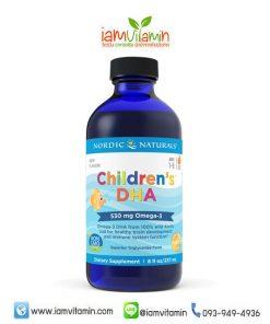 Nordic Naturals Children's DHA 8oz (237ml) วิตามินบำรุงสมอง Omega-3 สำหรับเด็ก
