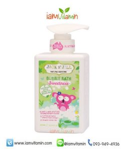 Jack N' Jill Natural Bubble Bath Sweetness 300ml สบู่ทำฟอง