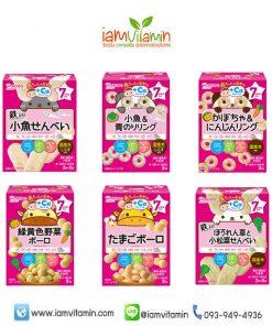 Wakodo Baby Snack Ca ขนมเด็ก ญี่ปุ่น