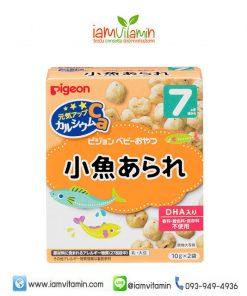 Pigeon Snack Biscuit Ca ขนมเด็ก ญี่ปุ่น 7เดือน