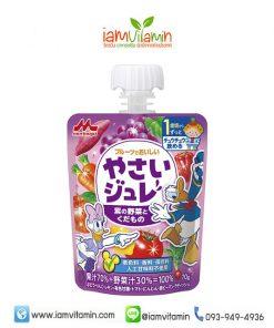 Morinaga Delicious Fruit Jelly Purple เยลลี่รสน้ำผักและผลไม้