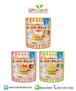 Wakodo Baby Food Pancake Mix For Baby แป้งทำแพนเค้กสำเร็จรูป