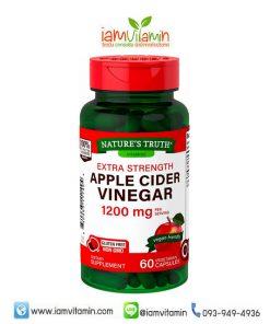 Nature's Truth Apple Cider Vinegar น้ำส้มสายชูหมัก แอปเปิ้ล