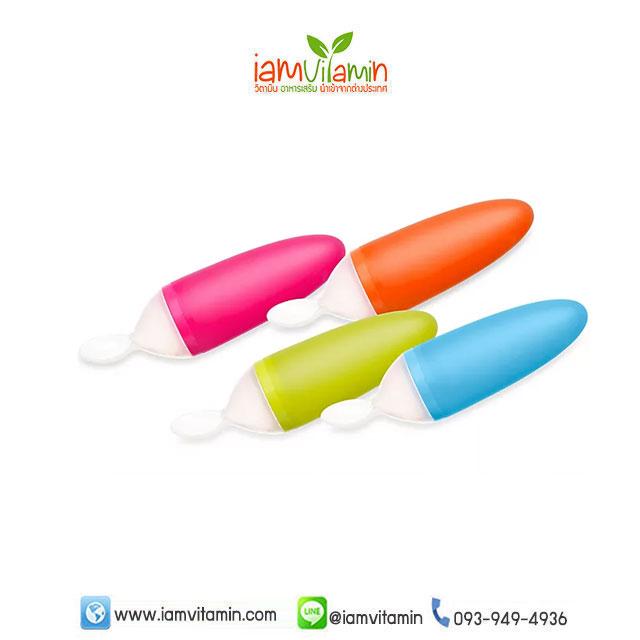 Boon Squirt Baby Food Dispensing Spoon ช้อนป้อนอาหารเสริมเด็ก