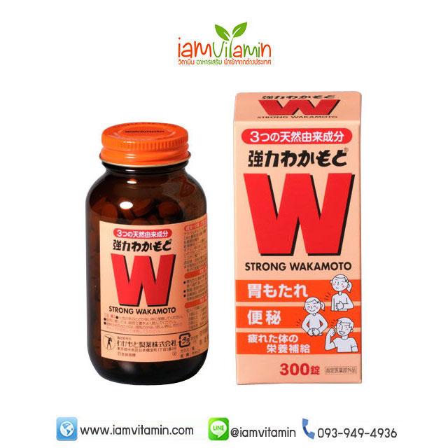 W Strong Wakamoto 300 เม็ด วากาโมโตะ